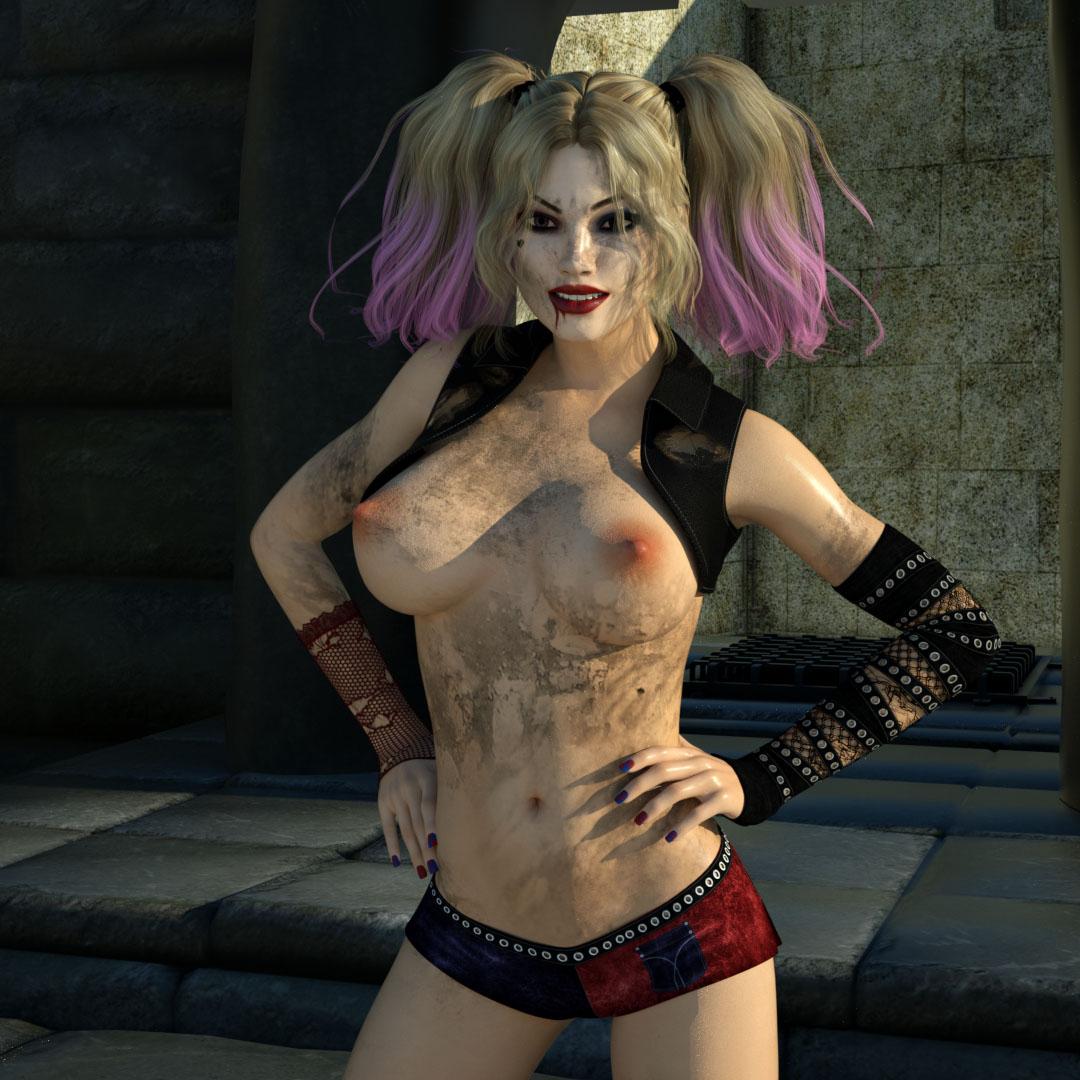 3D Harley Quinn Porn harley quinn - zuleyka's 3d comics porn