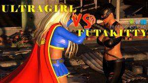Ultragirl vs Futakitty   HQ MOTION COMIC  Mac, Win and Android 1440p version